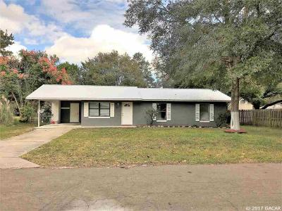 Williston Single Family Home For Sale: 703 NW 9TH Avenue