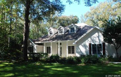 Gainesville Single Family Home For Sale: 5718 SW 89th Drive