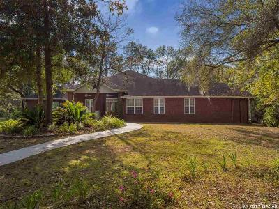 Alachua Single Family Home For Sale: 14319 NW 193rd Street