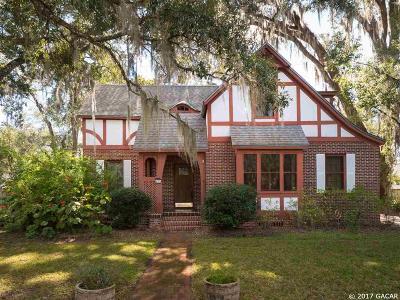 Gainesville Single Family Home For Sale: 535 NE 9th Avenue