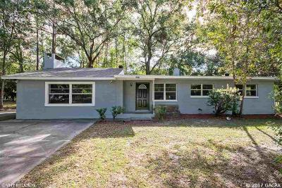 Gainesville FL Single Family Home For Sale: $134,900