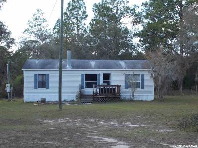Williston Single Family Home For Sale: 1290 NE 123rd Ave