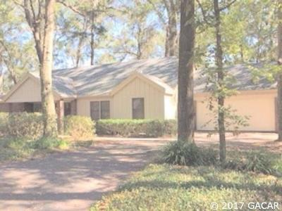 Gainesville FL Single Family Home For Sale: $227,000