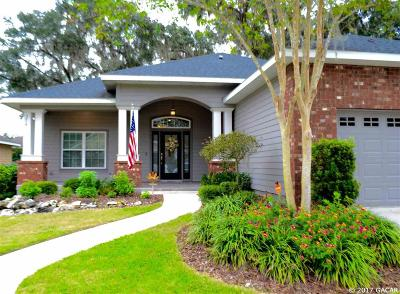 Gainesville Single Family Home For Sale: 3719 SW 74TH Drive
