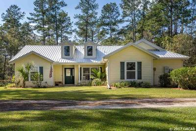 Gainesville Single Family Home For Sale: 15006 NW County Road 231 Road
