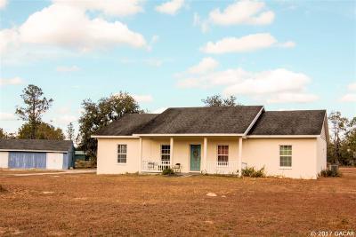 Bronson Single Family Home For Sale: 10251 NE 50TH Street