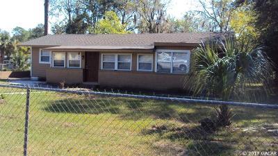 Gainesville Single Family Home For Sale: 915 SE 12TH Avenue