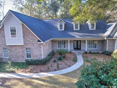 Gainesville Single Family Home For Sale: 9517 SW 40th Lane