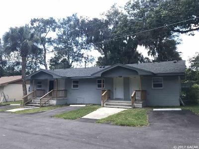 Gainesville Multi Family Home For Sale: 1902 SW 14th Terrace #multiple