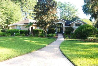 Gainesville Single Family Home For Sale: 10318 SW 22ND Avenue