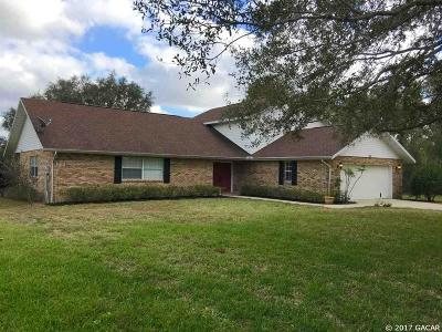 Williston FL Single Family Home For Sale: $199,500