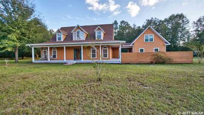 Alachua Single Family Home For Sale: 25417 N State Road 121
