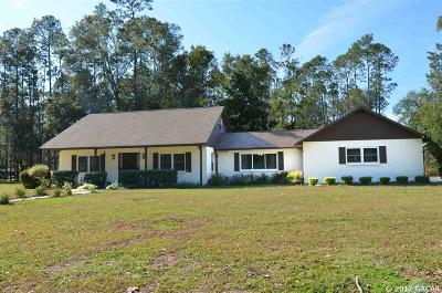 Gainesville Single Family Home For Sale: 5814 NW 32ND Street