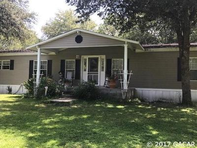 Hawthorne Single Family Home For Sale: 1439 SE US HWY 301