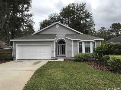 Newberry Single Family Home For Sale: 943 NW 122ND Terrace