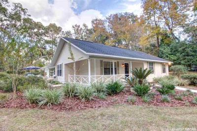 Gainesville FL Single Family Home For Sale: $329,000