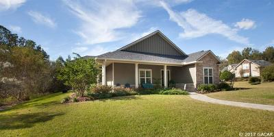 Gainesville Single Family Home For Sale: 1982 NW 111th Drive