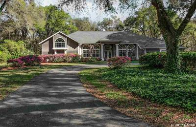 Gainesville Single Family Home For Sale: 8406 SW 103rd Avenue