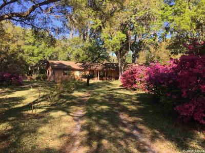 Williston Single Family Home For Sale: 14020 NW 160 Avenue
