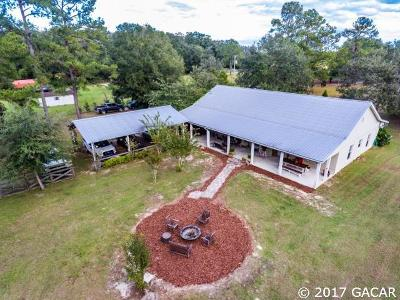 Citra Single Family Home For Sale: 7927 E Highway 318