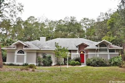 Gainesville Single Family Home For Sale: 5424 NW 46TH Terrace