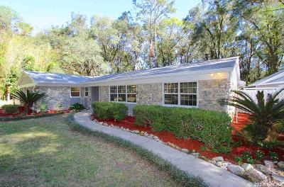 Gainesville Single Family Home For Sale: 701 SW 80TH Drive