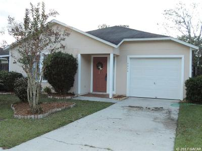 Gainesville Single Family Home For Sale: 3426 NW 25th Terrace