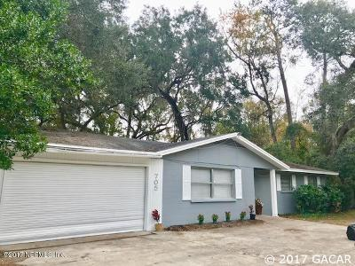 Gainesville Single Family Home For Sale: 705 NW 34th Street