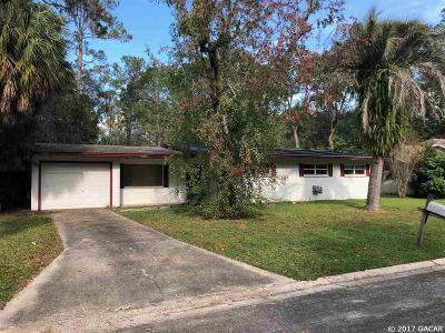 Gainesville Single Family Home For Sale: 4114 NW 18th Place