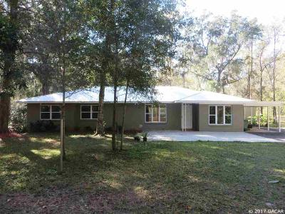 Gainesville Single Family Home For Sale: 11 SW 42ND Street