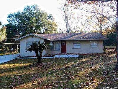 Alachua Single Family Home For Sale: 12419 NW 157TH Street