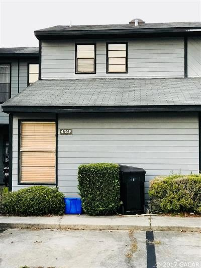 Gainesville Condo/Townhouse For Sale: 4346 SW 21st