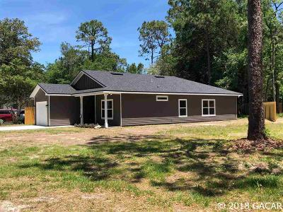 Gainesville Single Family Home For Sale: 4309 NW 12th Terrace