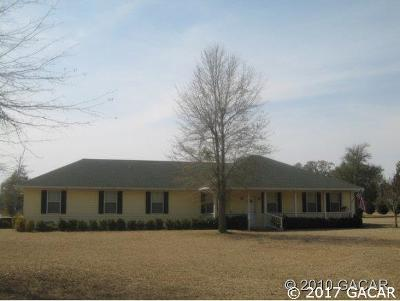 Newberry Single Family Home For Sale: 5852 NW SR 45 Road