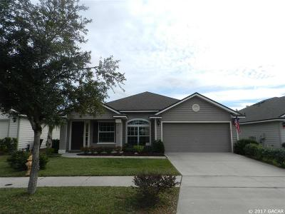 Gainesville Single Family Home For Sale: 8135 NW 51st Street