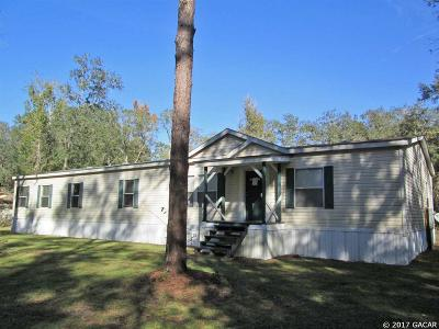 Gainesville Single Family Home For Sale: 15109 NW 31st Terrace