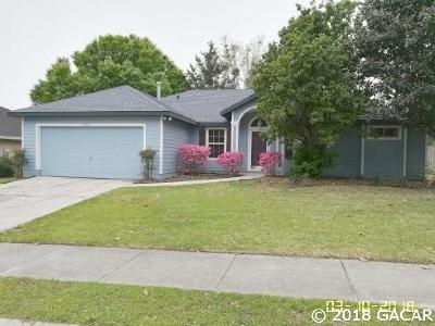 Gainesville Single Family Home For Sale: 7721 SW 49th Place