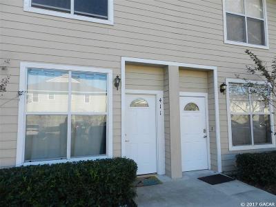 Gainesville Condo/Townhouse For Sale: 3901 SW 20 Avenue #411