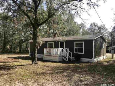 Bronson Single Family Home For Sale: 14350 NE 75th Street