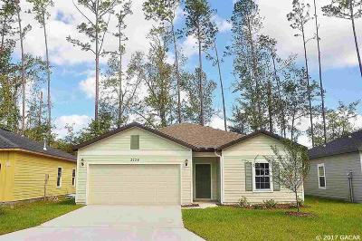 Gainesville Single Family Home For Sale: 2106 NW 75th Place
