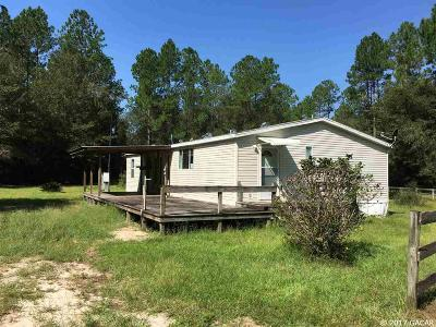 Alachua Single Family Home For Sale: 16817 NW 110th Avenue