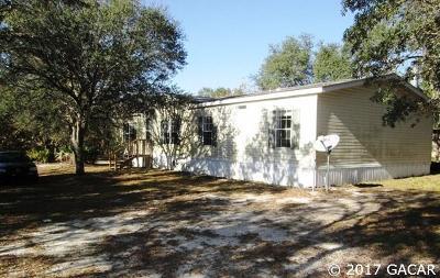 Bronson Single Family Home For Sale: 12431 NE 86th Street