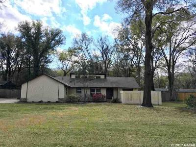 Gainesville Single Family Home For Sale: 10125 SW 37th Place