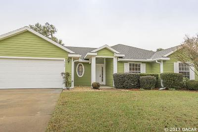 Gainesville Single Family Home For Sale: 2102 NW 86th Terrace