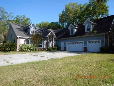 Newberry Single Family Home For Sale: 921 SW 170TH Street