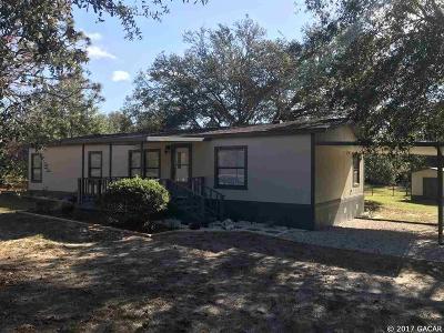 Melrose Single Family Home For Sale: 701 SR 26