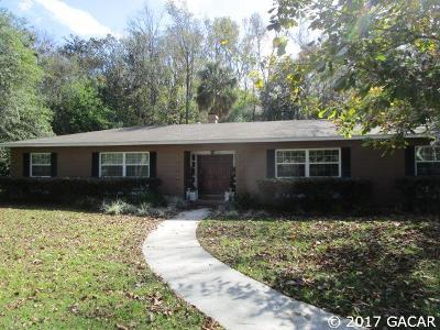 Gainesville FL Single Family Home For Sale: $326,000