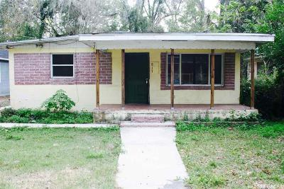 Gainesville FL Single Family Home For Sale: $222,000