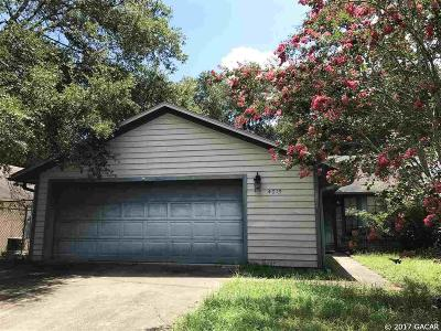 Gainesville FL Single Family Home For Sale: $115,900
