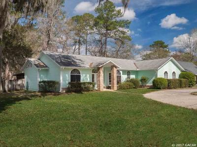 Gainesville FL Single Family Home For Sale: $360,000